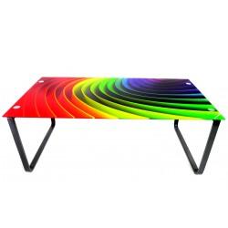 Soffbord regnbåge (Glas)