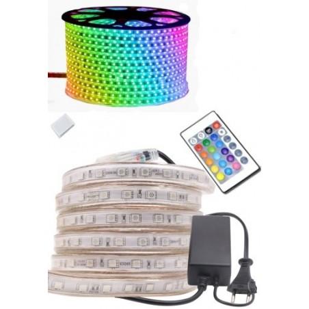 LED slinga RGB 230V (15 meter)