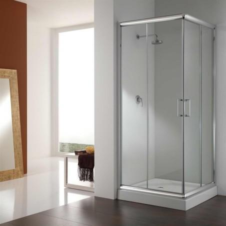 Duschhörn inkl. duschkar 80x80/90x90