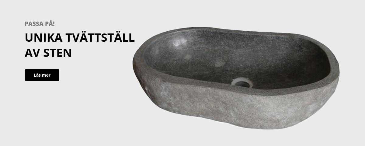 Tvättställ av sten